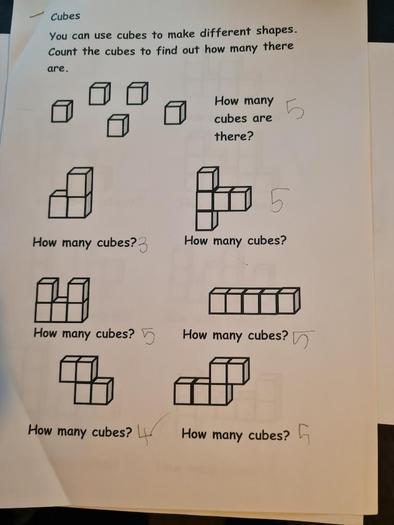 Morgan's great number work!
