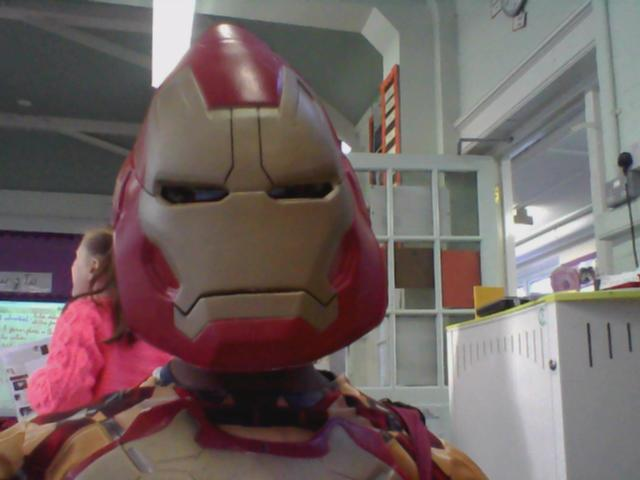 Iron Man visited