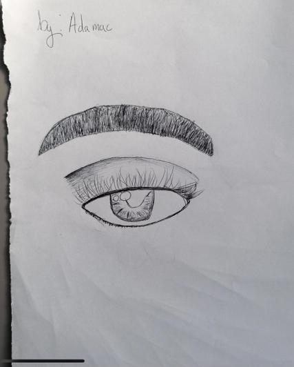 Eye observation by Adama year 4