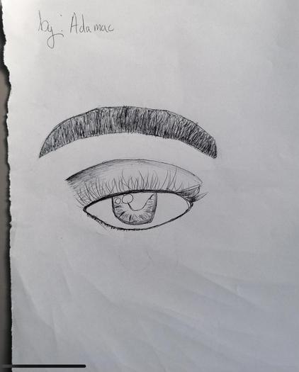 Eye observation by Adama year 4