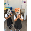 Role playing tigers and cheetahs!