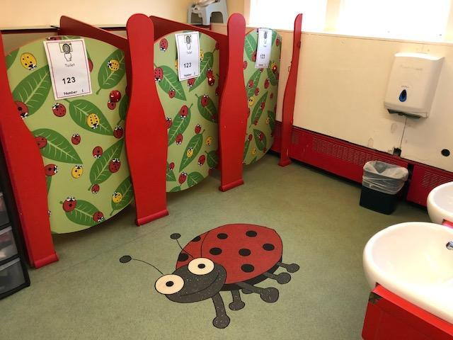 The toilets.