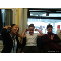 Silly Faces on the train...