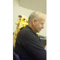 Who's that reading over Mr Pott's shoulder