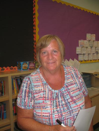 Mrs Cripps - Year 4 TA