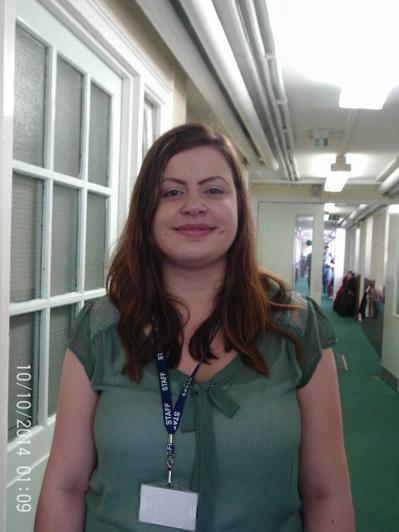 Shelley Narborough - Dinners and Attendance Officer