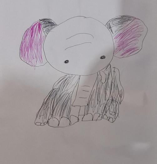 Wonderful elephant by Igbunu from Magnolia