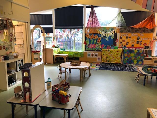 A look inside the Nursery.