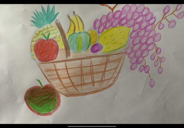 This juicy looking fruit basket is by Belle in Sycamore