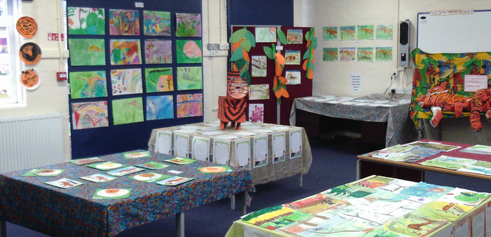 Our art gallery to celebrate creative arts week