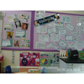 Science topic wall!