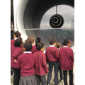Examining the Rolls Royce engine