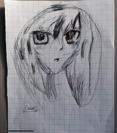 Amazing anime eyes on this face, from Gabi in Year 4
