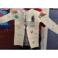 Gracie's Lab Coat design