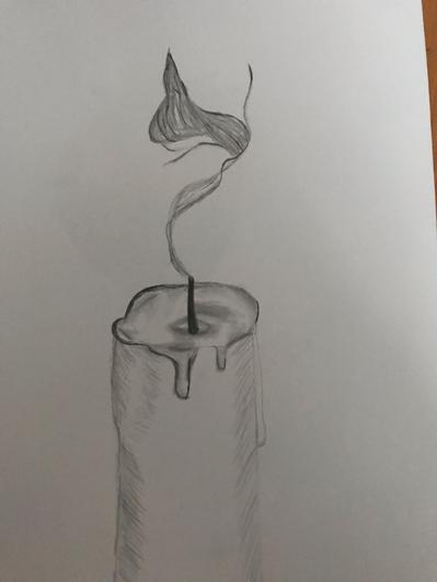 A candle in the wind, from Zahra