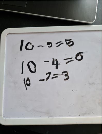 Morgan's great subtraction number sentences