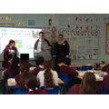Makaton sign language session