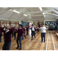 Learning an ancient Egyptian dance