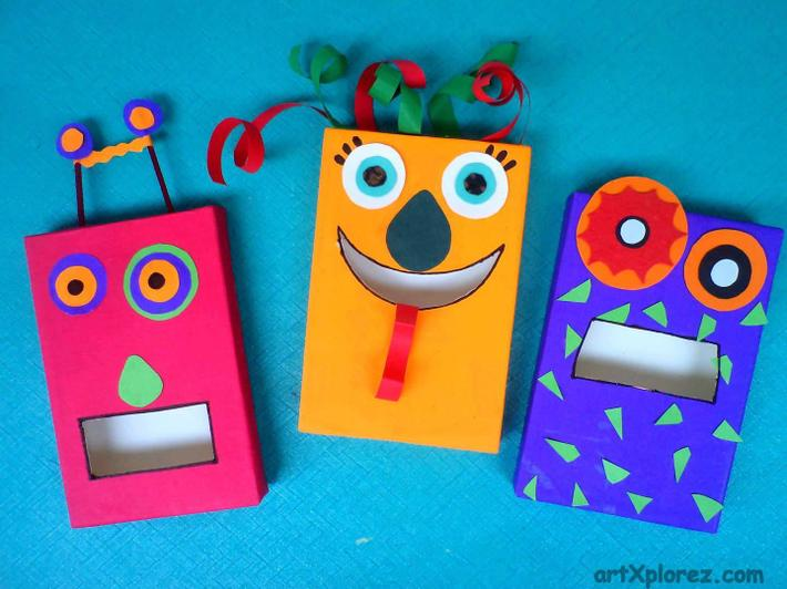 These cereal box monsters are terrific!
