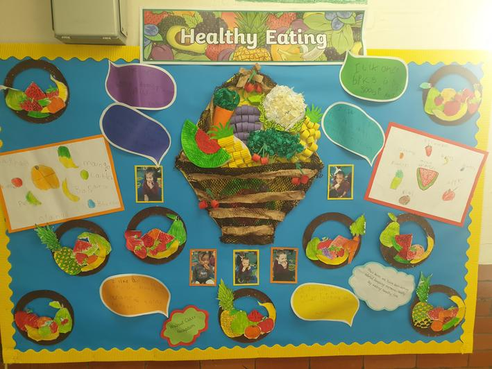 Our healthy eating display