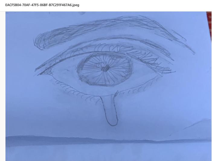 Teary eye by Dion from Sequoia