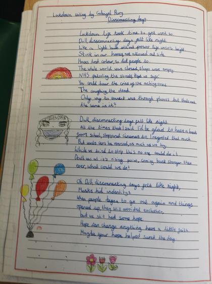 Gaby's poem - overall winner