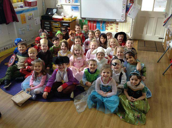 The children looked fantastic dressed up as their favourite story characters!