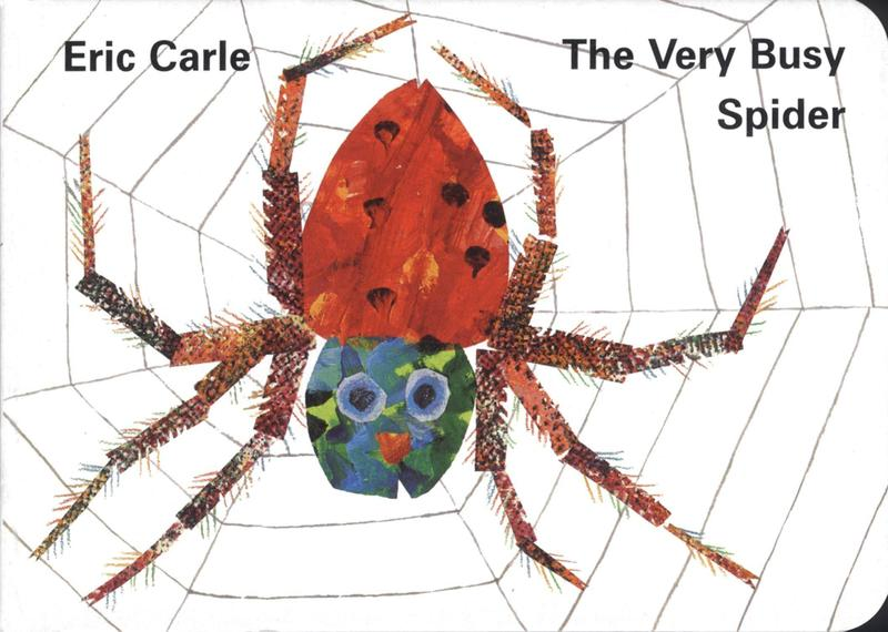 Our first book we looked at was The Very Busy Spider
