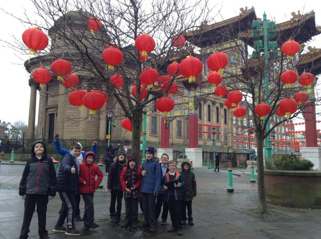Visiting China Town for the Chinese New Year!