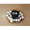 Perfect sheep biscuit made by Owen