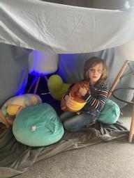 Noah made a den