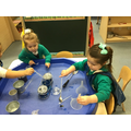 Experimenting with flavoured tea, containers and utensils