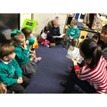We love love to read in class 2