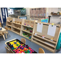 Art Easel and Creative Areas