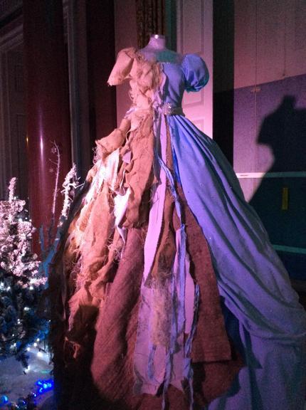 We found Cinderella's magical dress.