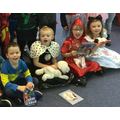 It was a very happy World Book Day in 1S.