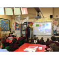 A visit from Father Chris about Christian Values
