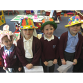 Easter bonnets and smiles.
