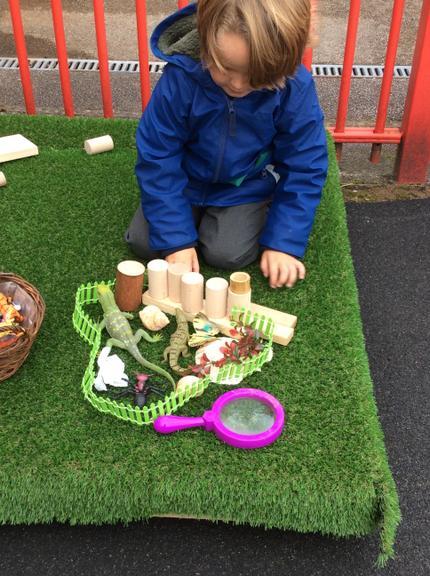We have enjoyed using our imagination.