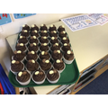 Class 1C won the cup cake challenge!!