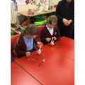 Working together to make our Christingles.