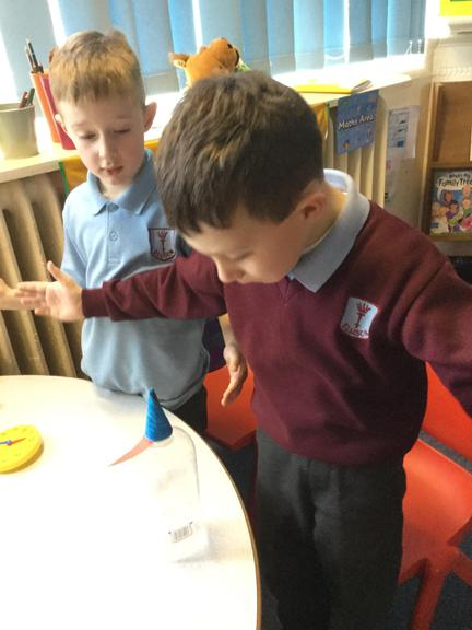 We enjoyed creating our own rocket mouse.