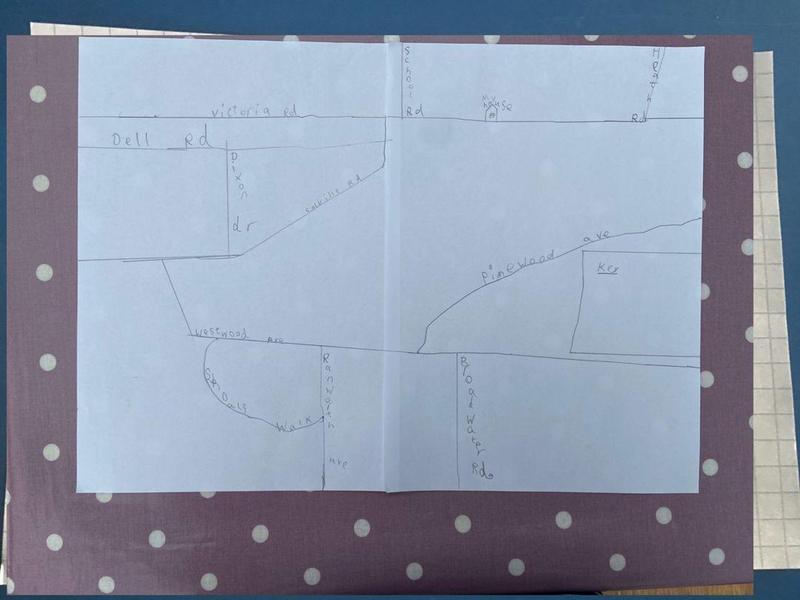 Elena's map