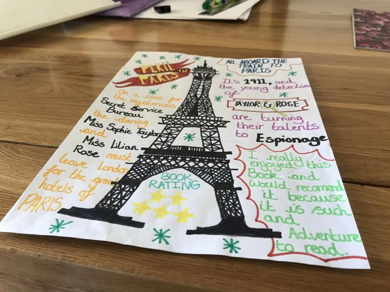 What an incredible drawing of the Eiffel Tower!