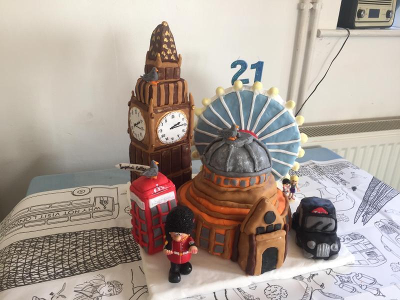 London - in cake!
