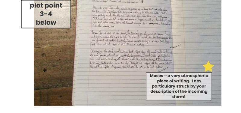 Moses' narrative