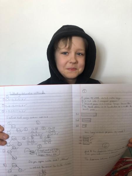 Amazing Maths work Junior!