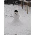 Connie's snowman
