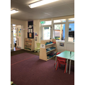 Small world and Literacy area