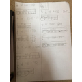 Maths work: Phoebe Barrett